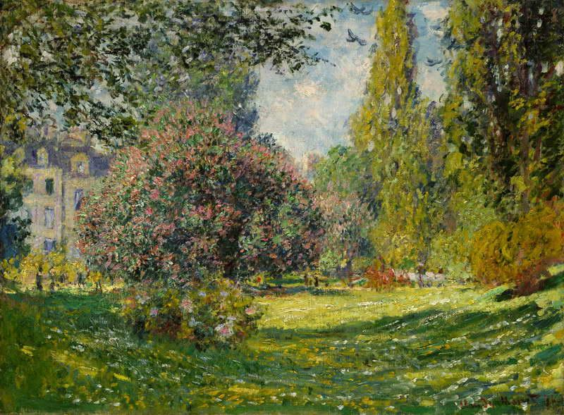 Landscape, The Parc Monceau
