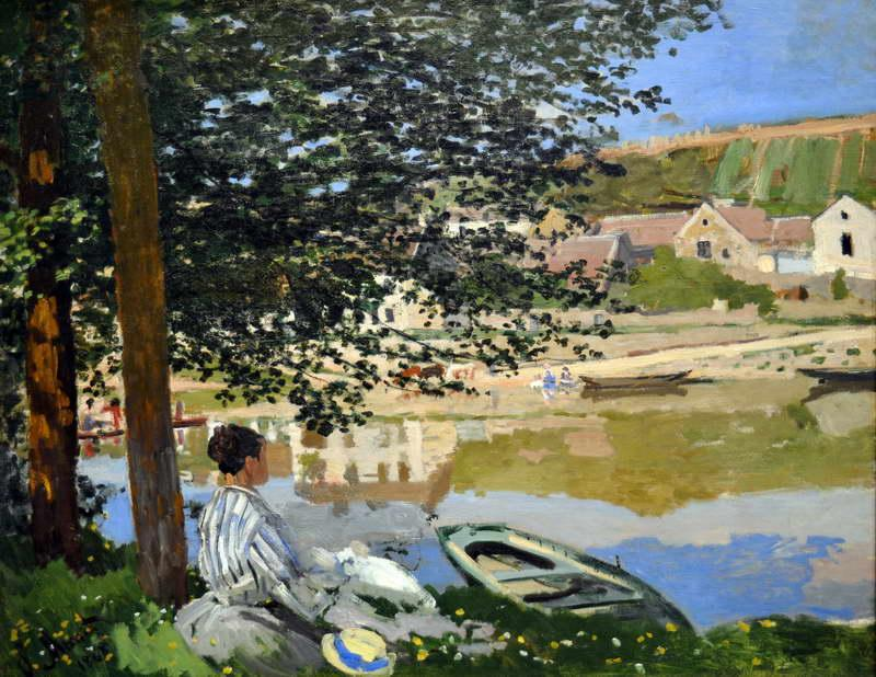 River Scene at Bennecourt, 1868