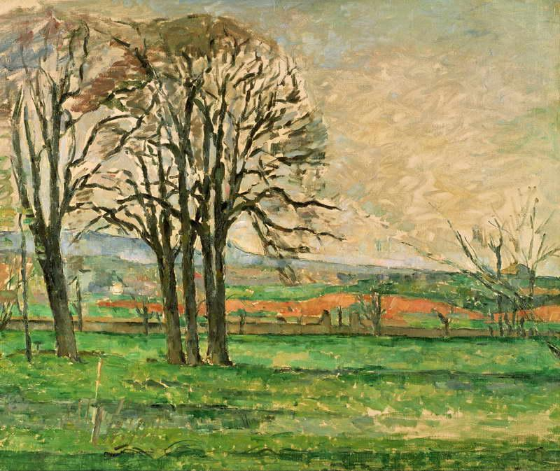 The Bare Trees en Jas de Bouffan