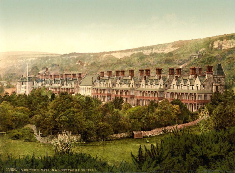 Fotomural Isla De Wight Inglaterra 1899