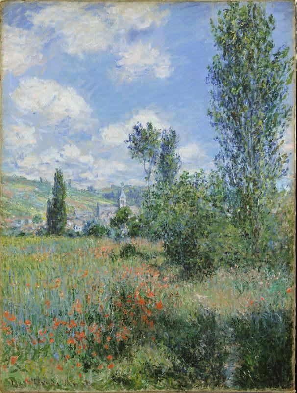 Lane in the Poppy Fields, Ile Saint-Martin, 1880