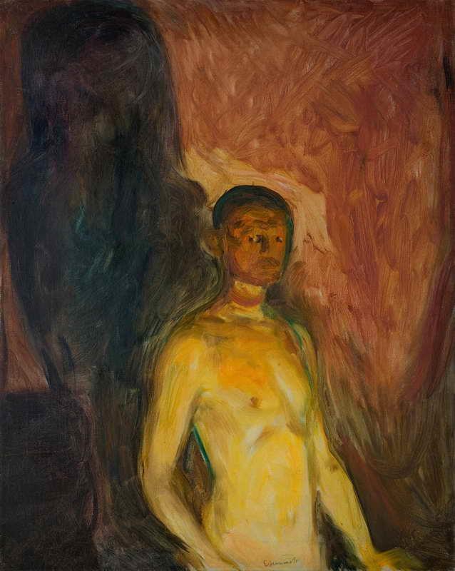 Obra de Arte - Retrato en el Infierno - Edvard Munch