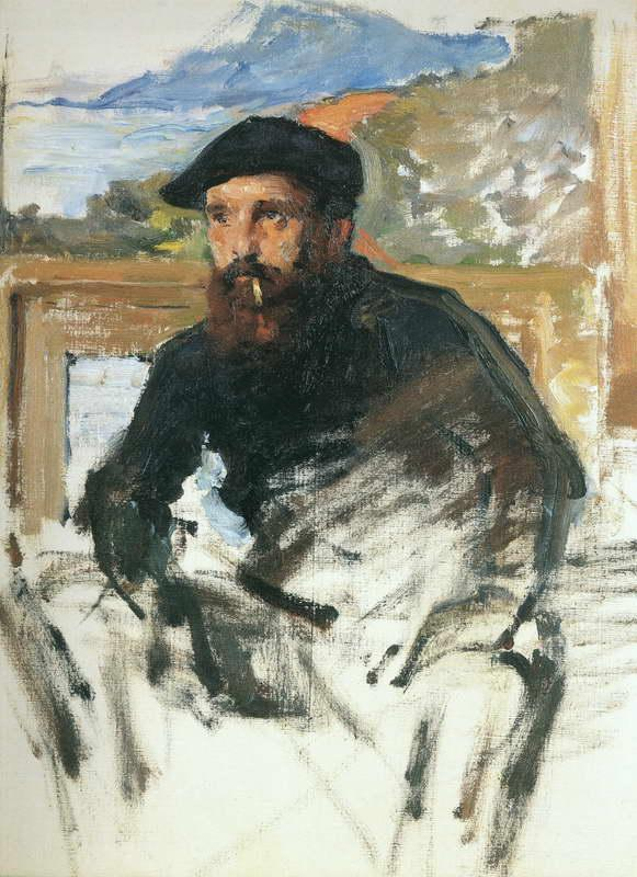 Self Portrait in Atelier