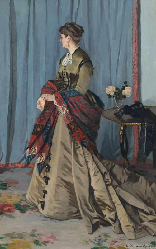 Portrait of Madame Gaudibert, 1868