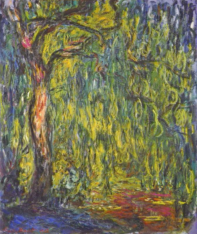 Weeping Willow, 1918