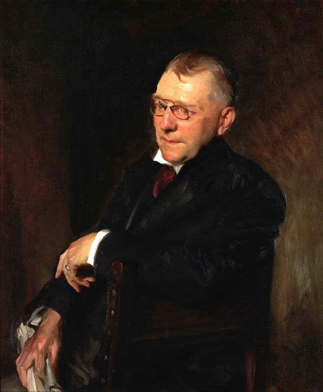 Retrato de James Whitcomb Riley