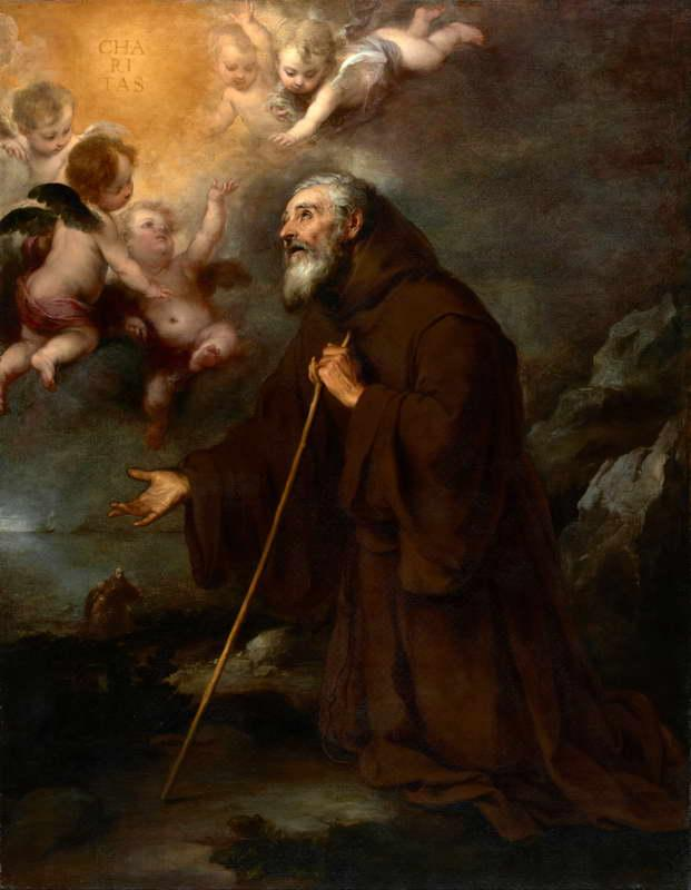 The Vision of Saint Francis of Paola