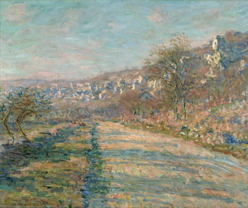 Road of La Roche-Guyon, 1880