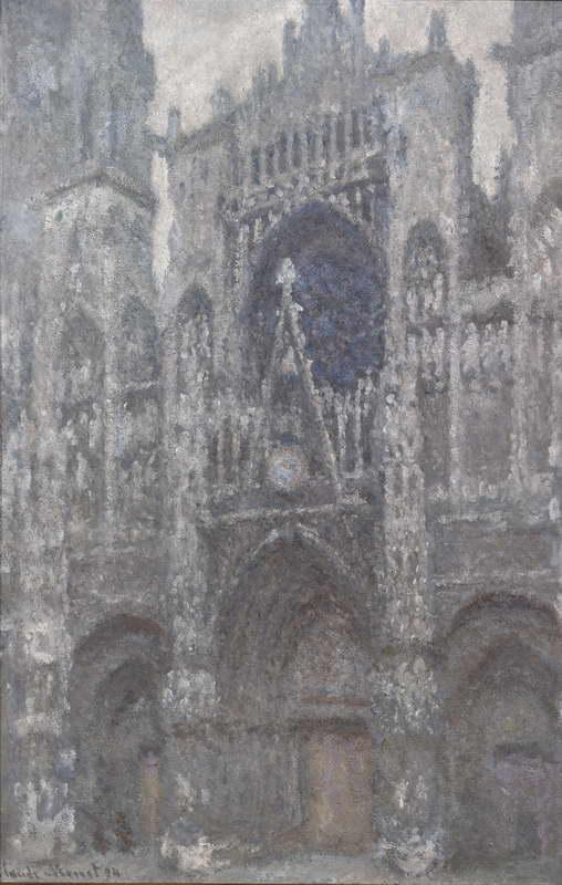 Rouen Cathedral, Grey Weather, 1894