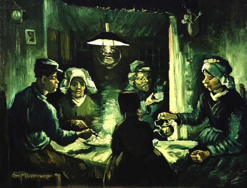 Obra de Arte - Los comedores de patata - Vincent Willem van Gogh