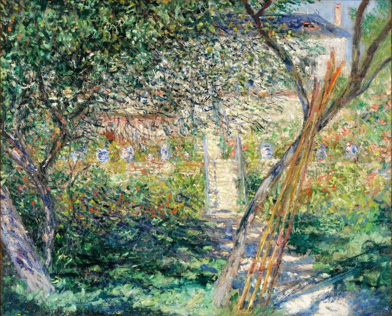Monet's Garden at Vetheuil, 1881