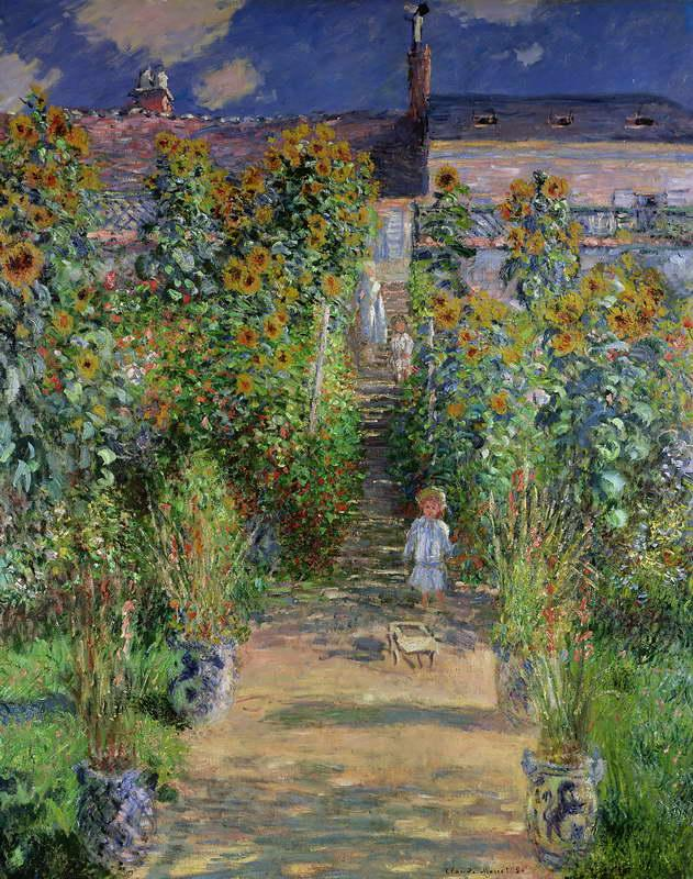 Monet's garden at Vétheuil