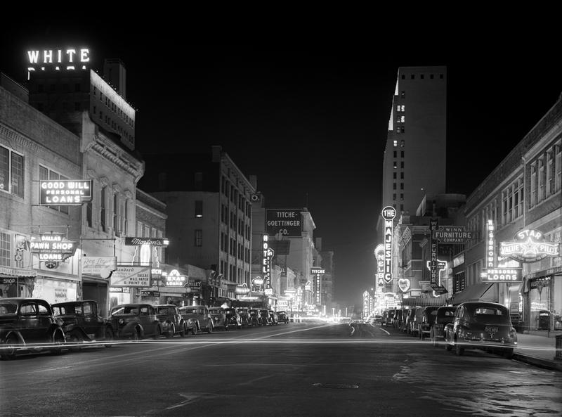 Downtown Dallas 1942