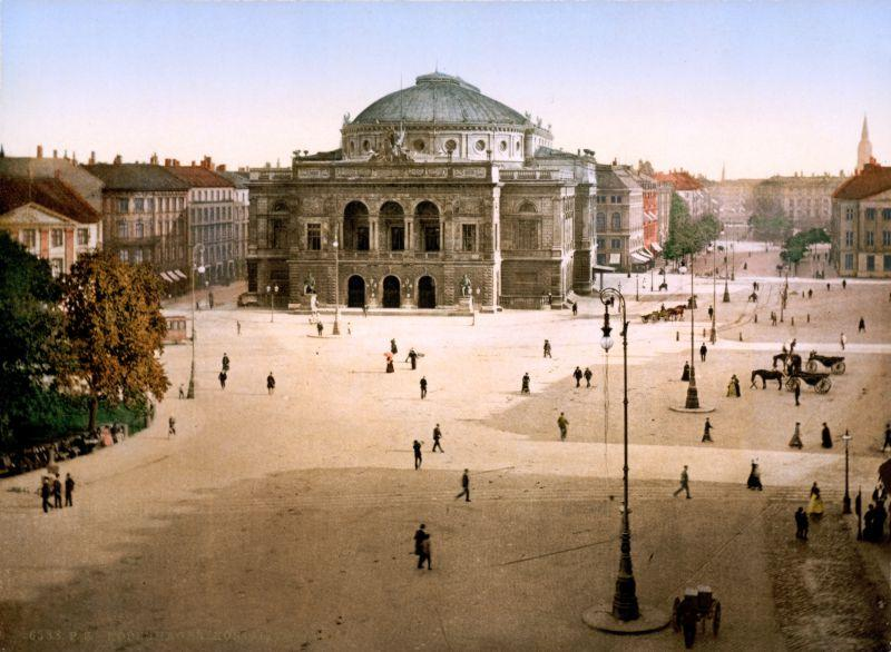 Teatro Real de Copenague 1897