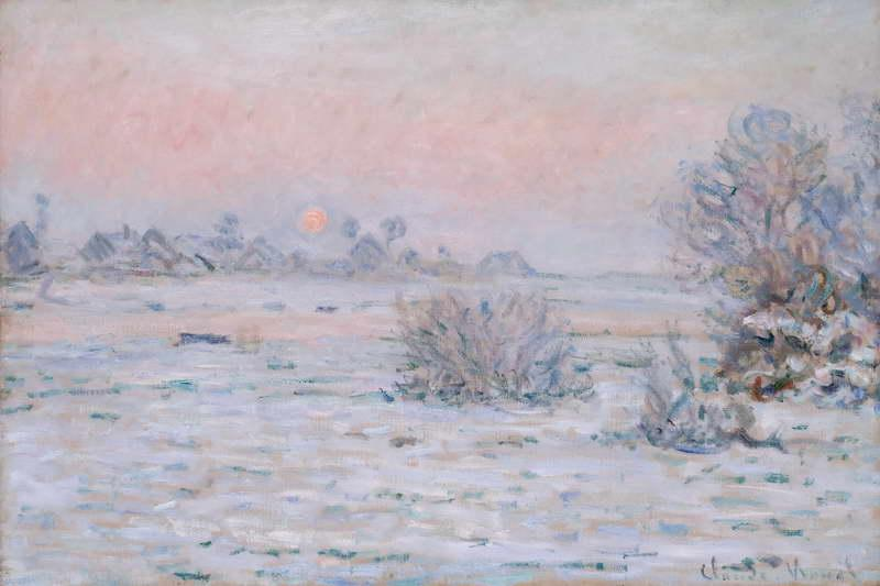 Winter Sun , Lavacourt , 1879-1880