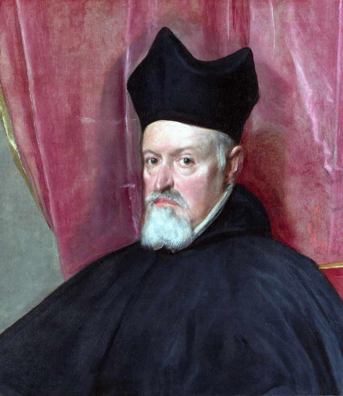 Portrait of Archbishop Fernando de Valdes