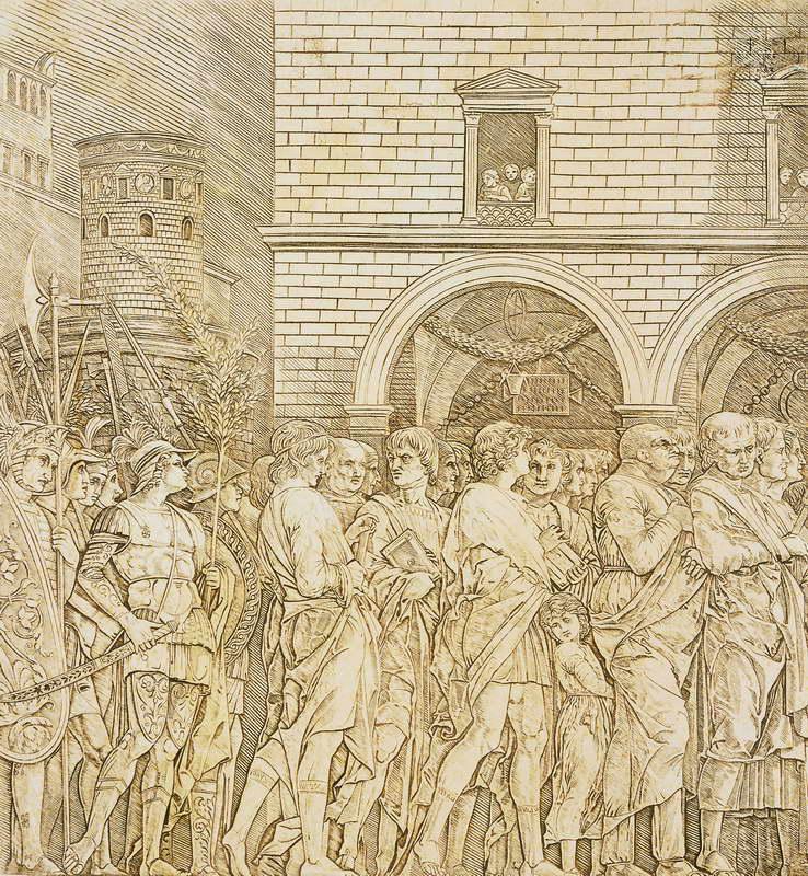 Obra de arte triunfo de senadores andrea mantegna - Cenadores de obra ...