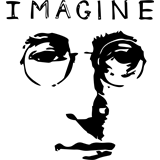 Beatles  John Lennon Imagine vinilo decorativo