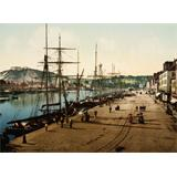Cherbourg, Francia 1895