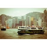 Ferry en Hong Kong