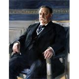Retrato presidencial oficial de William Howard