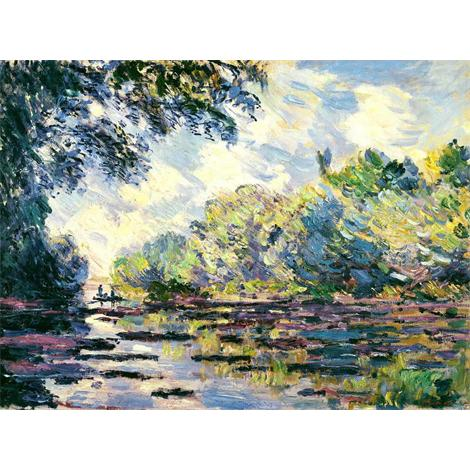 Section of the Seine, near Giverny, 1885