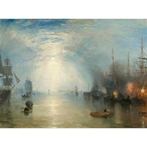 Keelmen Heaving en Carbones by Moonlight