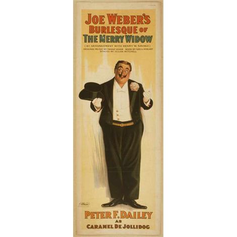 The Merry Widow, comedia de Joe Weber's