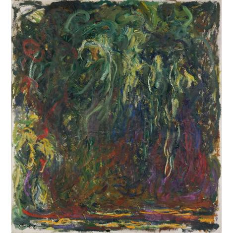 Weeping Willow , Giverny, 1920-1922 02