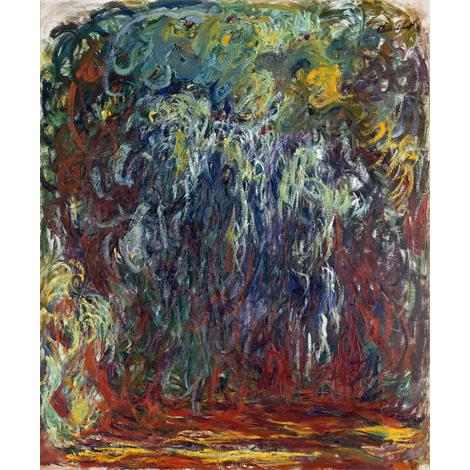 Weeping Willow , Giverny, 1920-1922 01