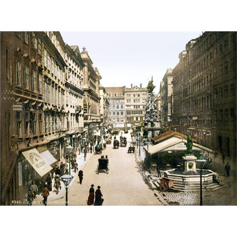 The Graben, Viena 1895