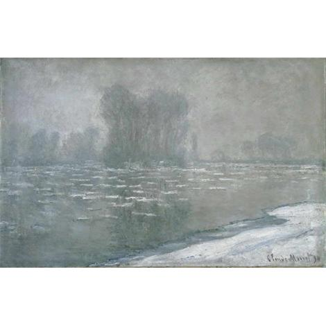Témpanos de hielo, Misty Morning , 1894