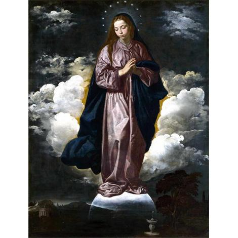 VELAZQUEZ, Diego Rodriguez de Silva y - The Immaculate Conception