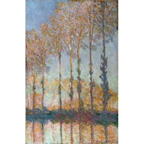 Poplars, White and Yellow Effect, 1891