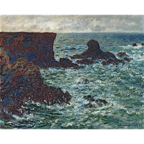 Rocks at Port-Coton, the Lion, 1886