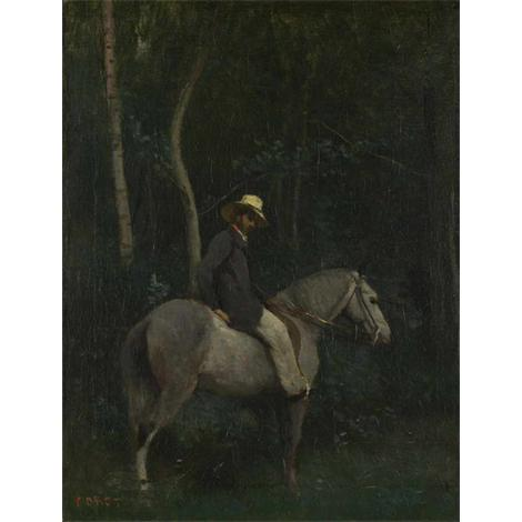 Monsieur Pivot on Horseback