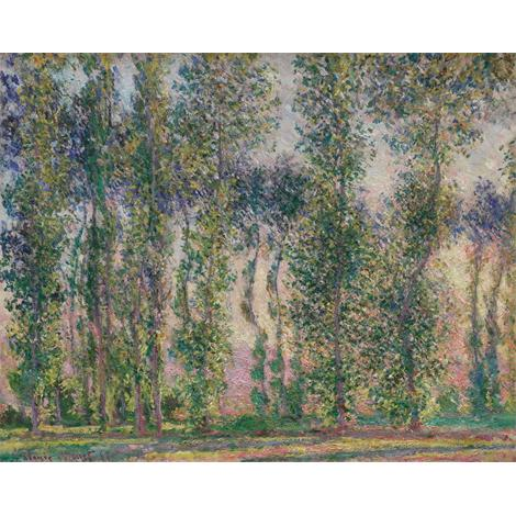 Poplars at Giverny, 1887