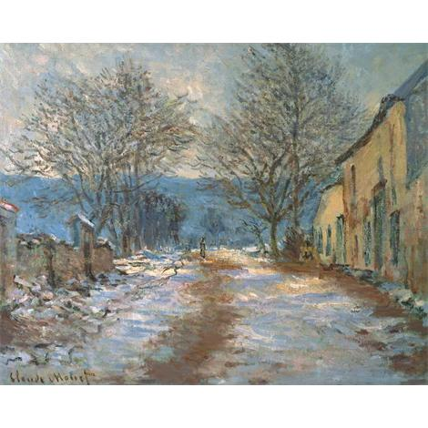 Snow Effect at Limetz, 1885-86