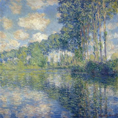Poplars on the Epte, 1891