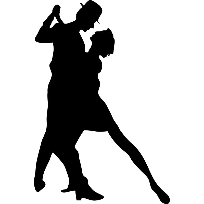 Танцующие пары картинки черно белые, новому