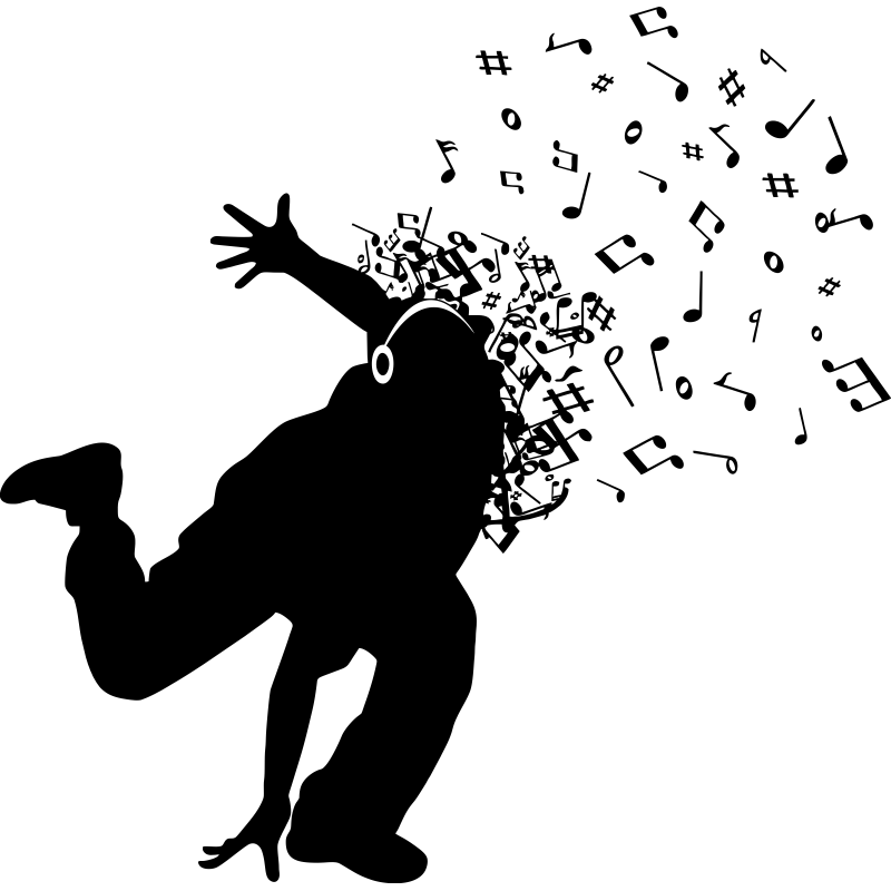 barato negro bailando