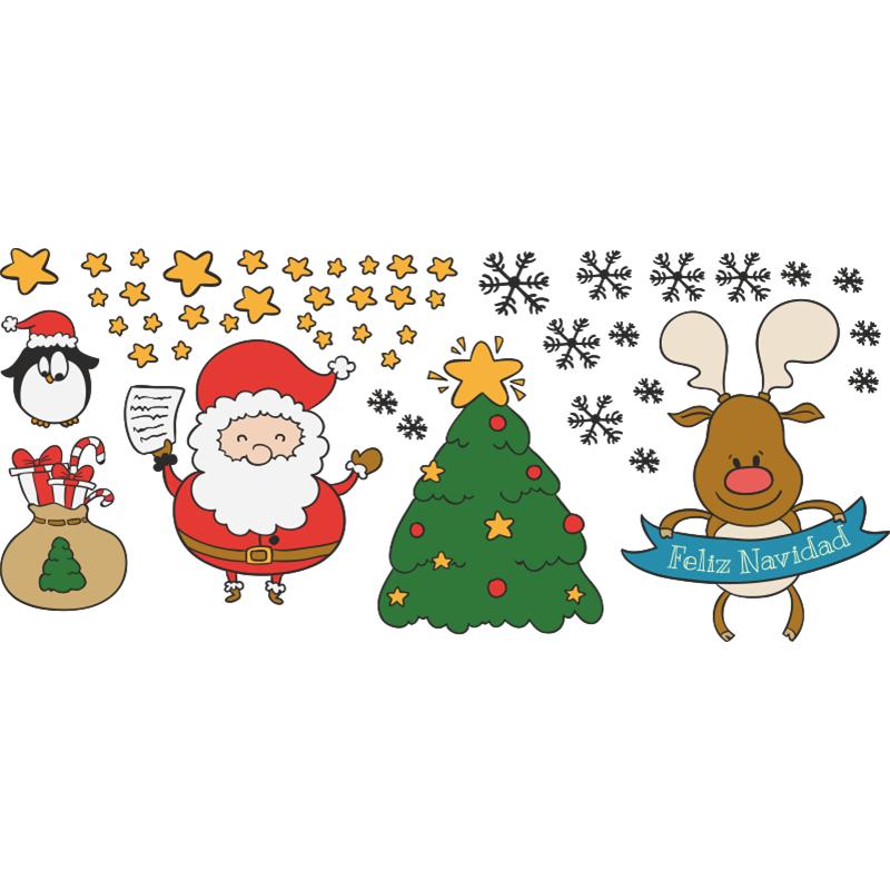 Dale un toque infantil a tu navidad con este kit de - Decorativos de navidad ...