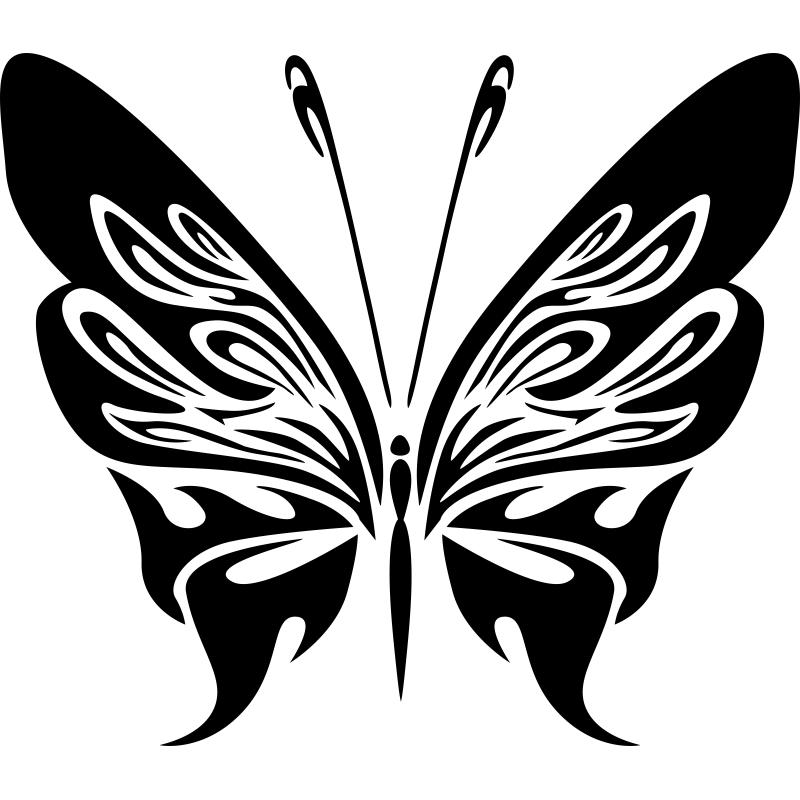 Con este vinilo decorativo de mariposas podrás elegir ...