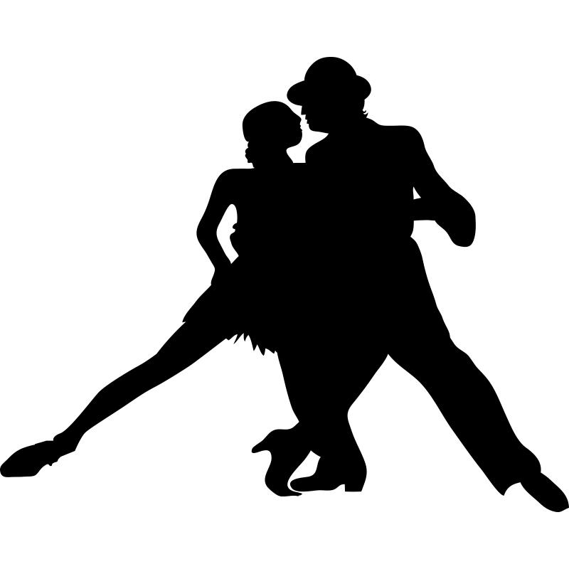 apasionado bailarines baile