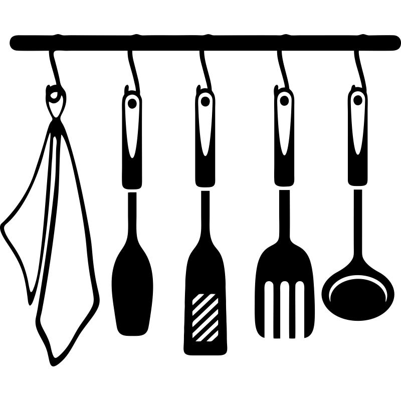 Si eres un 39 cocinillas 39 decora la pared de tu estancia for Instrumentos para cocina