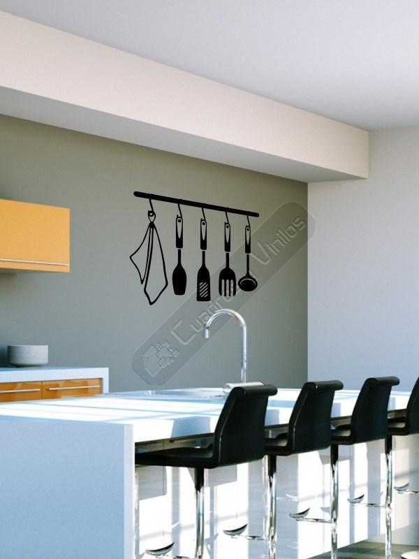 Si eres un 39 cocinillas 39 decora la pared de tu estancia - Vinilo decorativo cocina ...