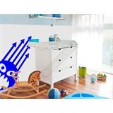 Vinilo decorativo infantil monstruito cinco cuernos