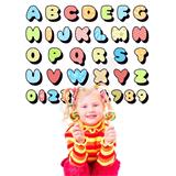 Vinilo infantil kit abecedario letras cartoon