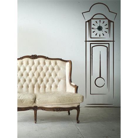Reloj de pared antiguo 62x184 - Reloj pegado pared ...