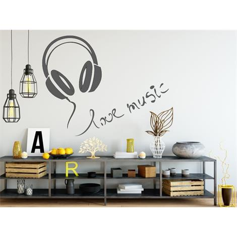 Auriculares love music
